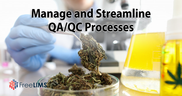 Maintain QA/QC with a Cannabis LIMS