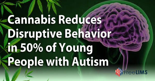 Cannabis Reduces Disruptive Behavior in Autistic Young People