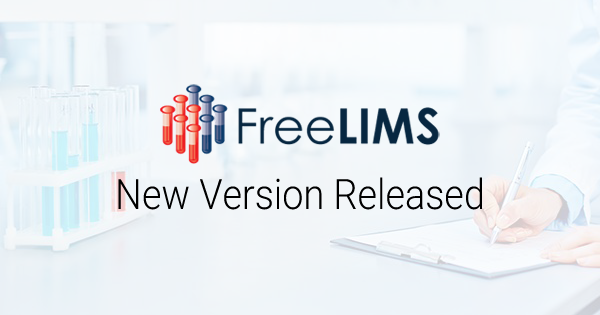 FreeLIMS Launches New Version of its LIMS