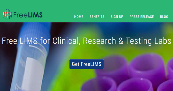 FreeLIMS.org Launches a Complimentary, Cloud-based Laboratory Information Management System (LIMS)