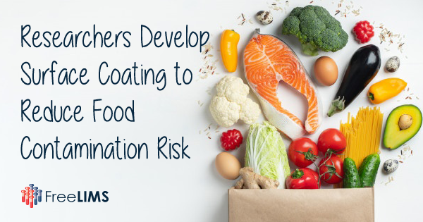 Durable Coating to Reduce Food Contamination