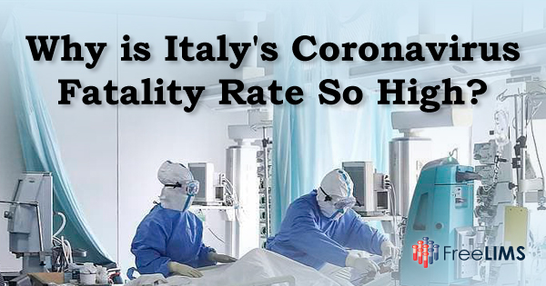 Why is Italy's coronavirus fatality rate so high?